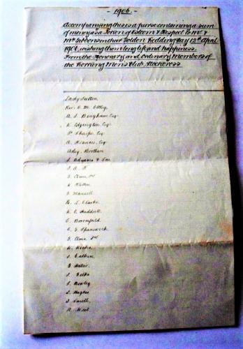 Gibbons List 1906 1
