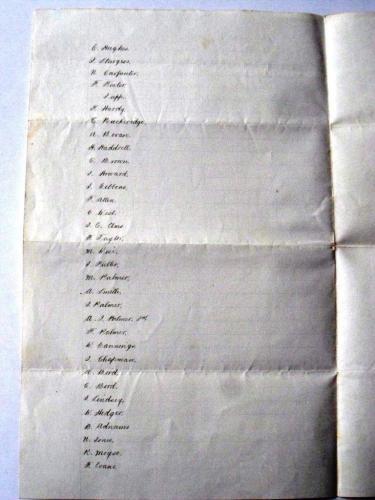 Gibbons List 1906 2