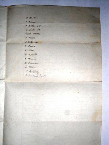 Gibbons List 1906 3