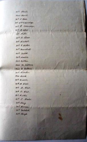 Gibbons List 1906 5